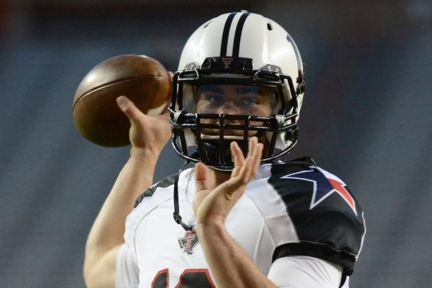 QB Brewer leaving Texas Tech for Va. Tech