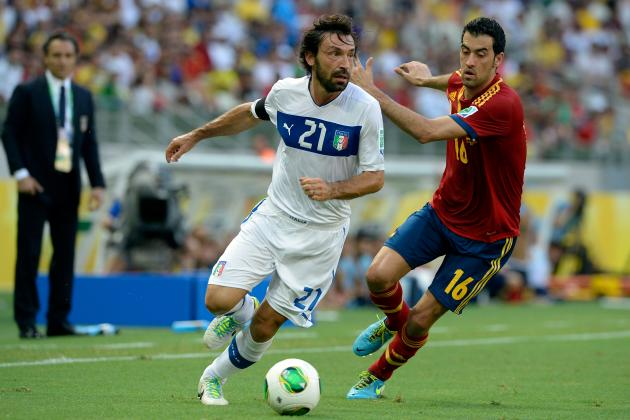 Xavi or Andrea Pirlo: A Close Comparison of the Midfielders