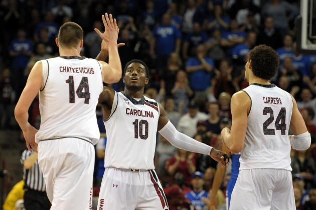Donovan Says Gamecocks Much Improved Team