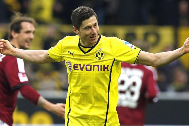 Robert Lewandowski Injury: Updates on Borussia Dortmund Star's Knee and Return