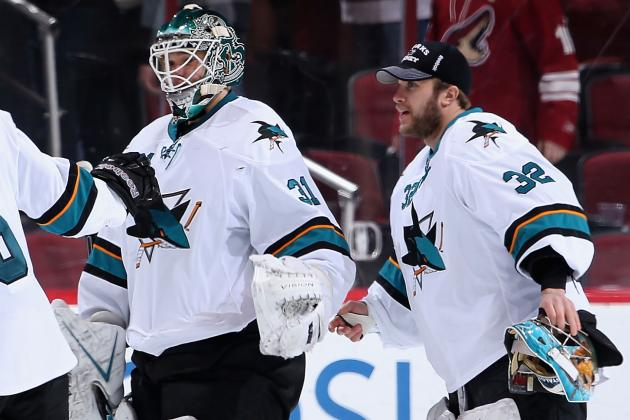 Will It Be Niemi or Stalock in Goal Tuesday Night for Sharks?