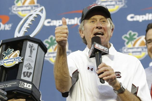 South Carolina Is Early SEC East Favorite in 2014, a Testament to Steve Spurrier