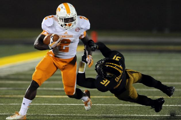 Alton 'Pig' Howard Reportedly Won't Participate in Tennessee's Spring Practice
