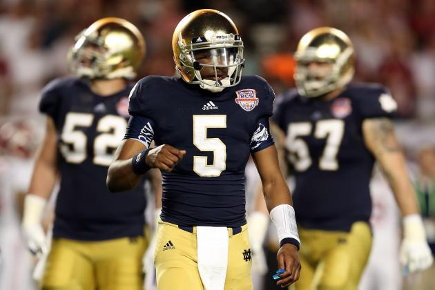 Notre Dame Football: Odds Malik Zaire Ends Spring Practice as Irish's No. 1 QB