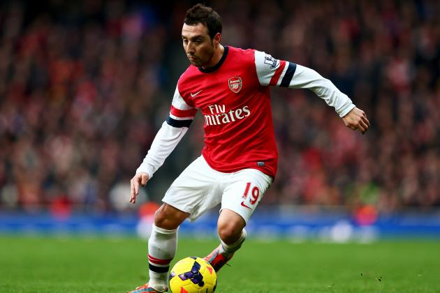 Santi Cazorla, Aaron Ramsey and Agree on Contract Extensions with Arsenal