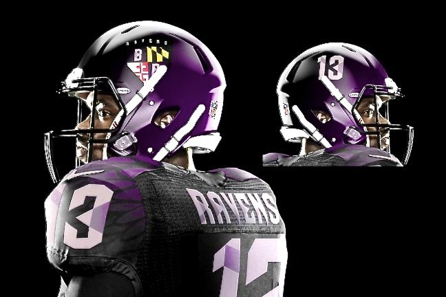 NFL Jerseys Mildly Redesigned by Jesse Alkire Produce Great Results