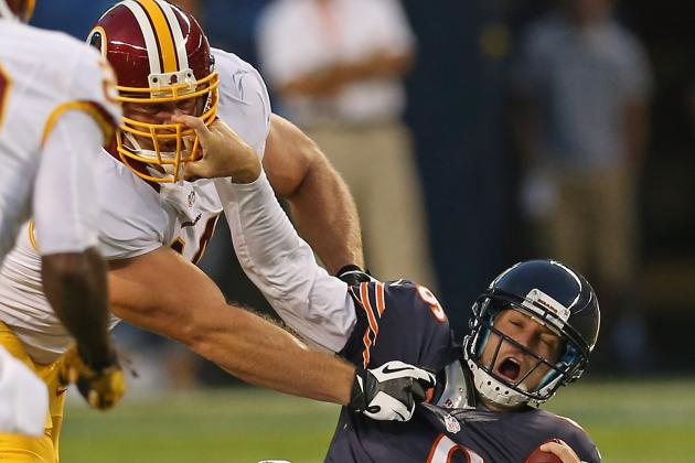 Redskins Release DL Carriker, Punter Rocca