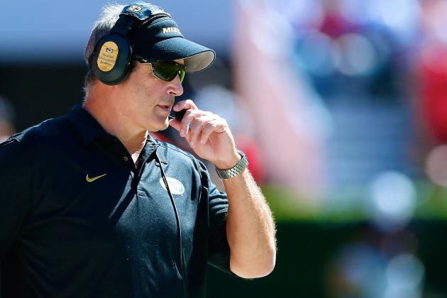 Gary Pinkel's Extension at Missouri Puts a New Kind of Pressure on Him