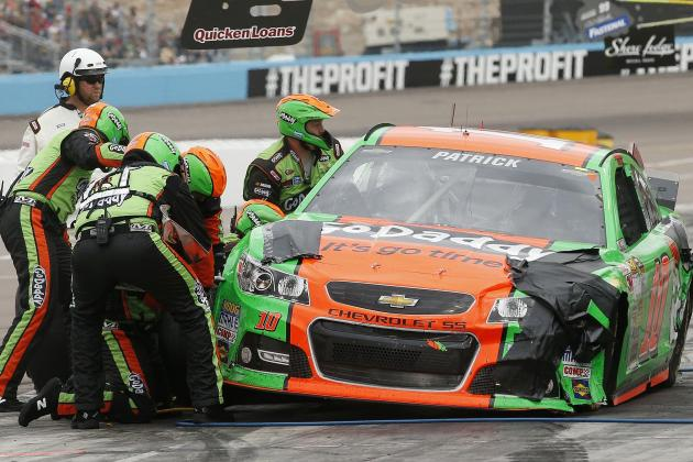 Danica Patrick: Latest News and 2014 Sprint Cup Ranking Heading into Kobalt 400