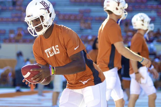 Spotlighting Tyrone Swoopes, Texas' Most Intriguing Player to Watch This Spring