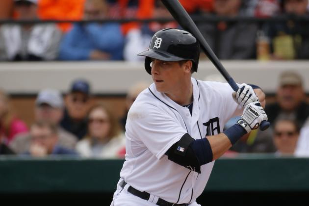 Andy Dirks Needs Back Surgery, out Three Months