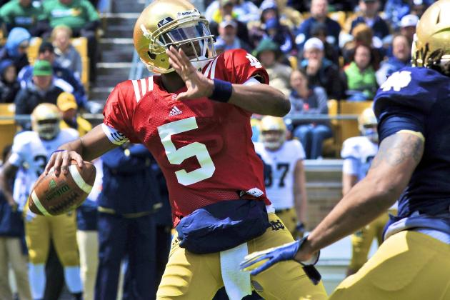 What Notre Dame Fans Need to See from Everett Golson This Spring