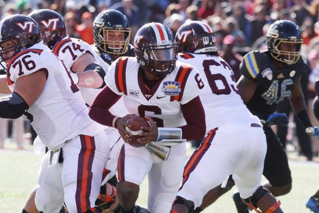 Virginia Tech Football: Handicapping the Hokies' QB Competition