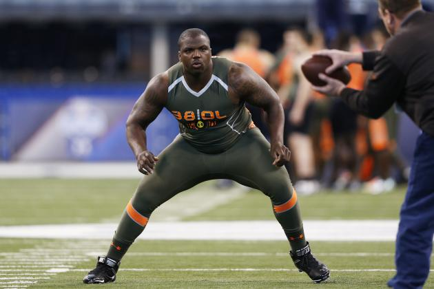 Rams Meet with Greg Robinson at Auburn Pro Day