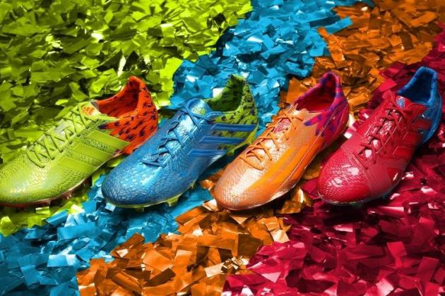 Adidas Launch Carnaval Pack of Brazilian-Inspired Boots