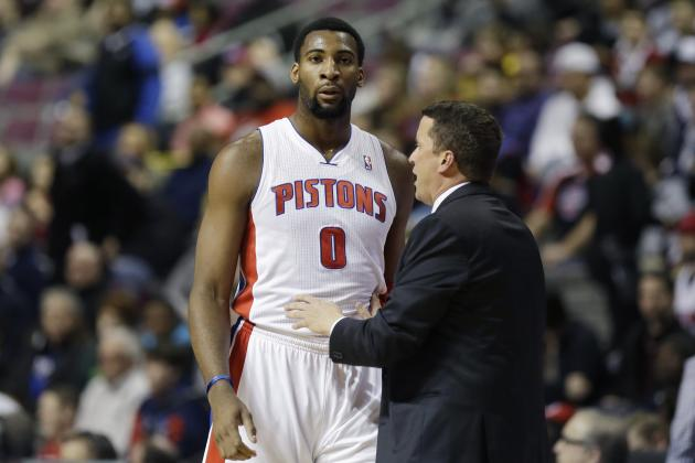 Pistons' Andre Drummond Grabs 26 Rebounds at Age of 20