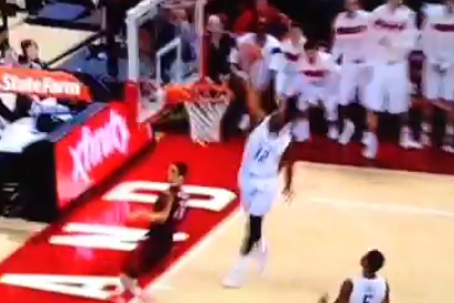 Dez Wells Dunk (still Working on the Landing) #Terps