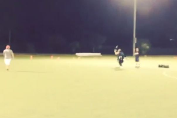 Chad Johnson Gets Beat Deep While Playing Flag Football