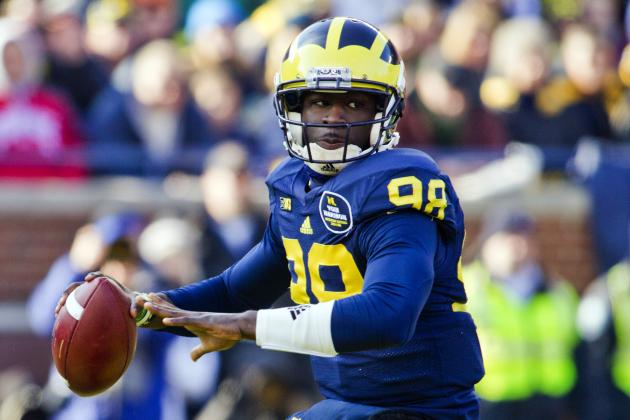 Michigan Football: Devin Gardner Showing Urgency Early in Spring Practice
