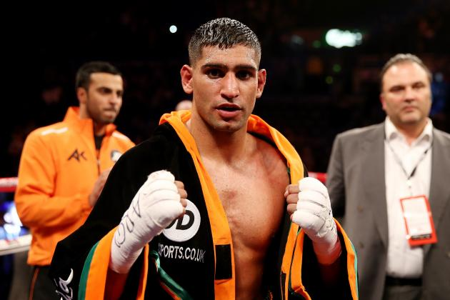 Amir Khan Offered $5M to Fight Kell Brook as Eddie Hearn Names Next Opponent