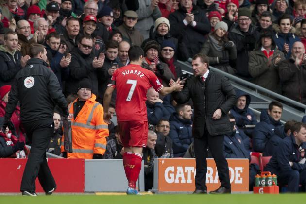 Liverpool Transfer News: Luis Suarez Future Not Riding on Champions League