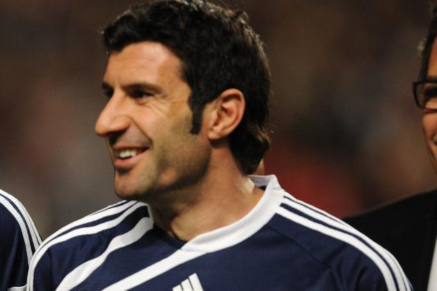Luis Figo Tweets Picture of Astonishing Number of Football Legends