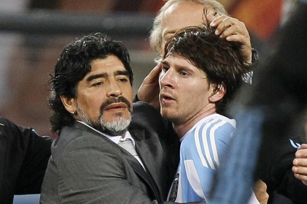 Lionel Messi Wants Revenge After World Cup Tears, Says Diego Maradona