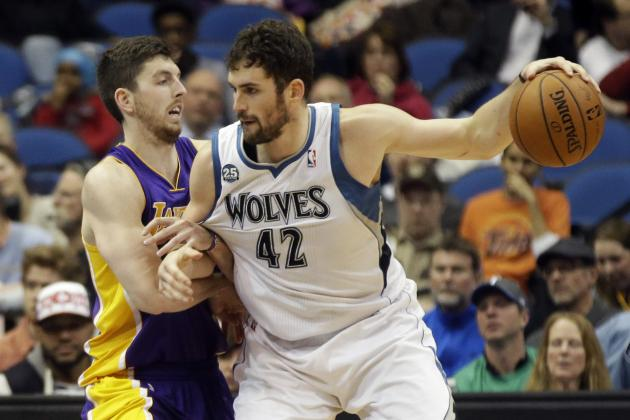 Kevin Love Reportedly to Choose Between Timberwolves or Lakers in Free Agency