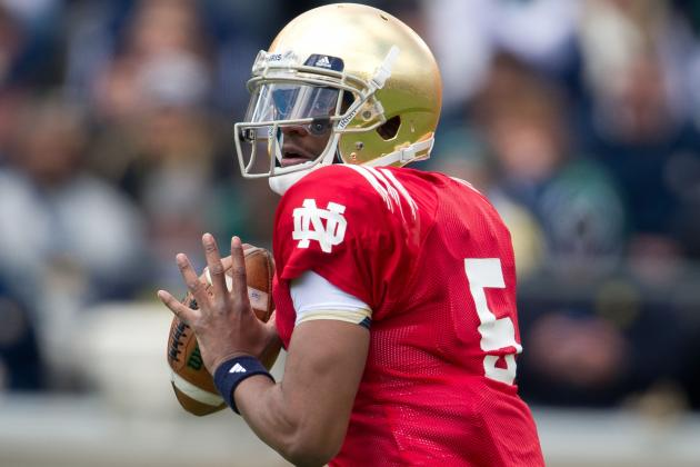 Everett Golson Welcomes the Pressure in His Return to Notre Dame