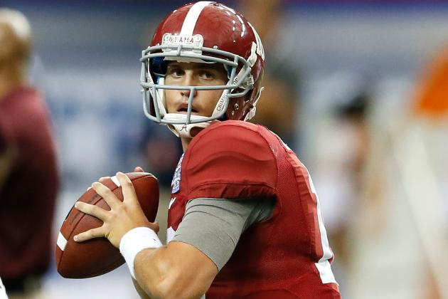 Which Alabama QB Must Impress in Spring Practice Before Jacob Coker Arrives?