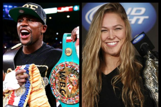 Ronda Rousey Says She Could Beat Floyd Mayweather in MMA Fight