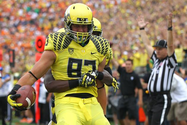 Spotlighting Johnny Mundt, Oregon's Most Intriguing Player to Watch This Spring