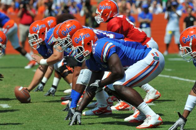 UF Opens Football Practice to Fans