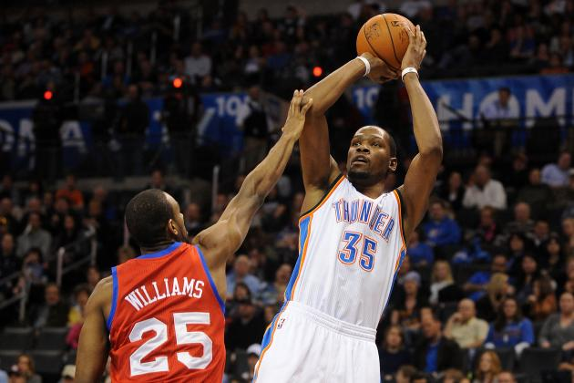 Kevin Durant's Efficiency Puts Scoring Tear on a Brand New Level