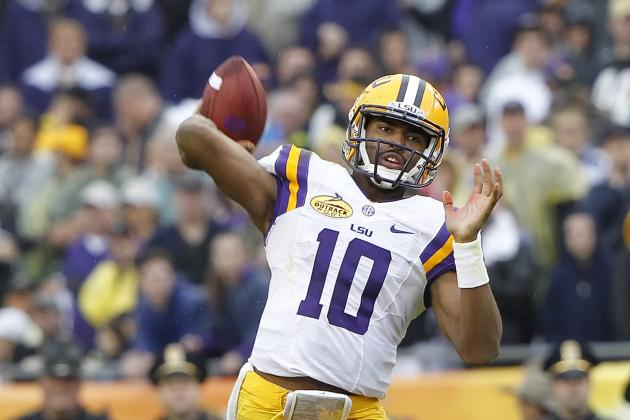 LSU Spring Football's Top Six Position Battles for 2014