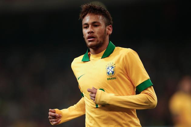 Analysing Neymar's Performance from Brazil vs. South Africa