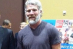 Brett Favre's Beard, Muscles Are Out of Control