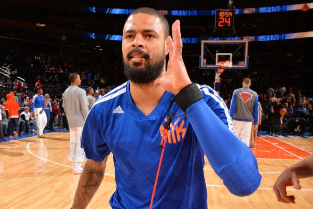 New York Knicks Should Trade Tyson Chandler to Salvage Future