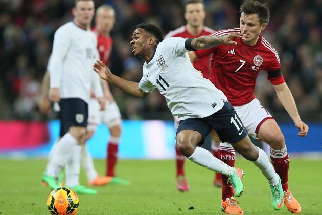 England vs. Denmark: Live Player Ratings