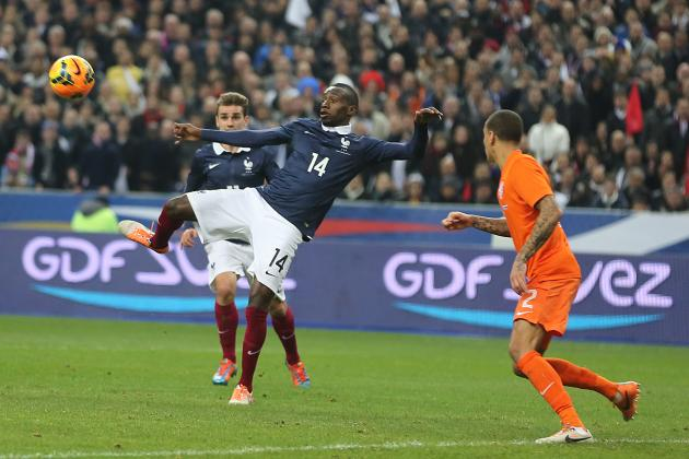 GIF: Blaise Matuidi Scores an Incredible Spinning Scissor Kick for France
