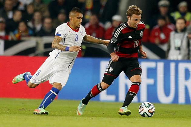 Germany vs. Chile: Score, Grades and Post-Match Reaction