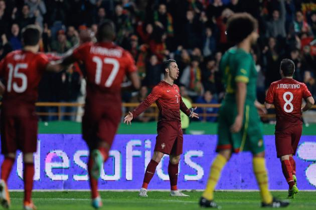 GIF: Cristiano Ronaldo Becomes Portugal's All-Time Leading Goalscorer