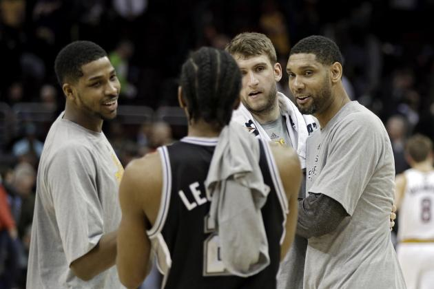 San Antonio Spurs Set NBA Record with 13 Different Players Recording an Assist