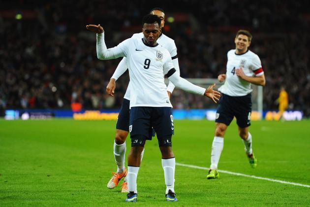GIF: Daniel Sturridge Heads in the Match-Winner for England vs. Denmark