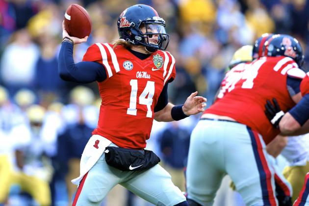 Ole Miss Football: What Bo Wallace Must Work on This Spring
