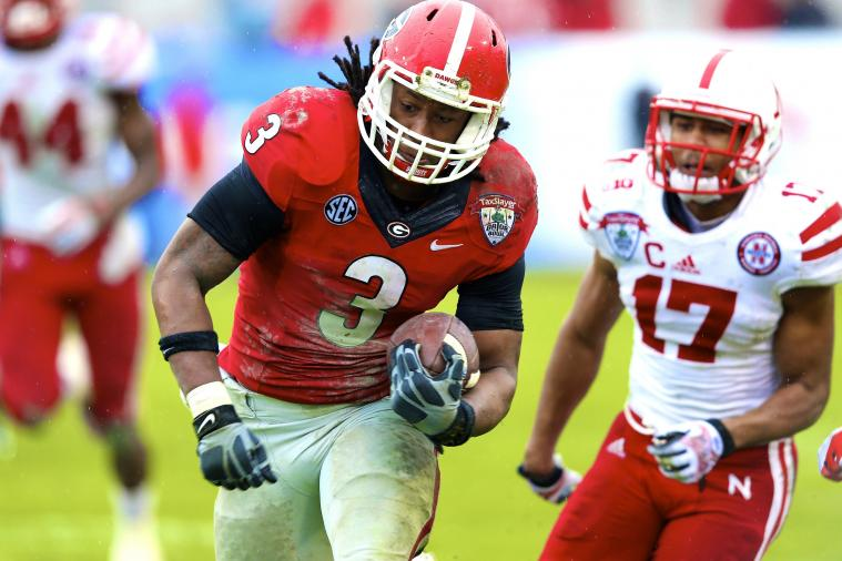Limiting Todd Gurley This Spring Wise Move by Mark Richt, Georgia