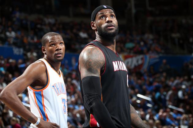 Is LeBron James-Kevin Durant MVP Race Unlike Any We've Seen Before?