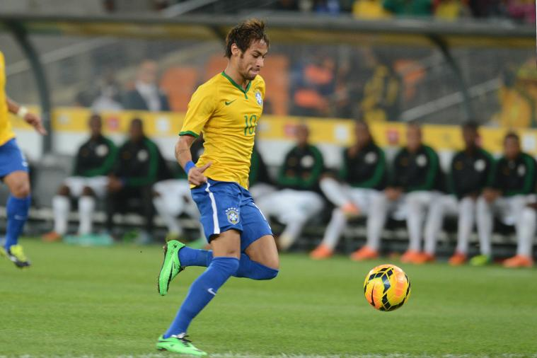 Neymar Nets Hat Trick for Brazil in Final Friendly Before World Cup
