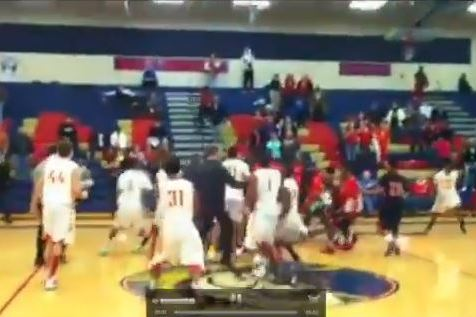 High School Basketball Game Ends with Buzzer-Beater, Brawl Ensues