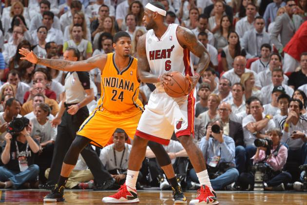 Paul George Wants to Be Mentored by LeBron James